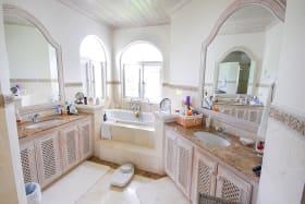 Attractive master bathroom