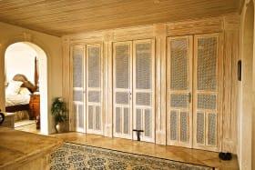 Extensive dressing area in master bedroom