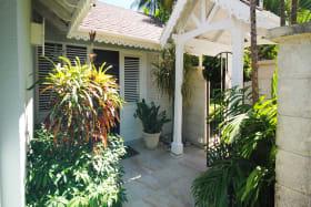Villa Lodge entrance
