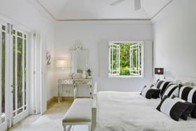 Guest bedroom in main house