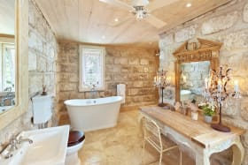 Chattel house bathroom