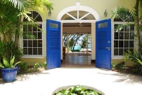 Main house entrance