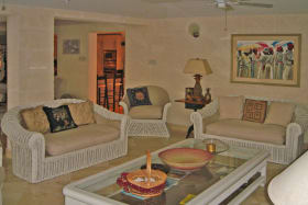 One indoor living area