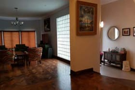 entry foyer and living room