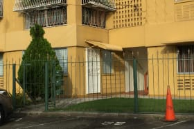 view of the ground floor apartment from the road