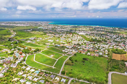 Aerial view of South View