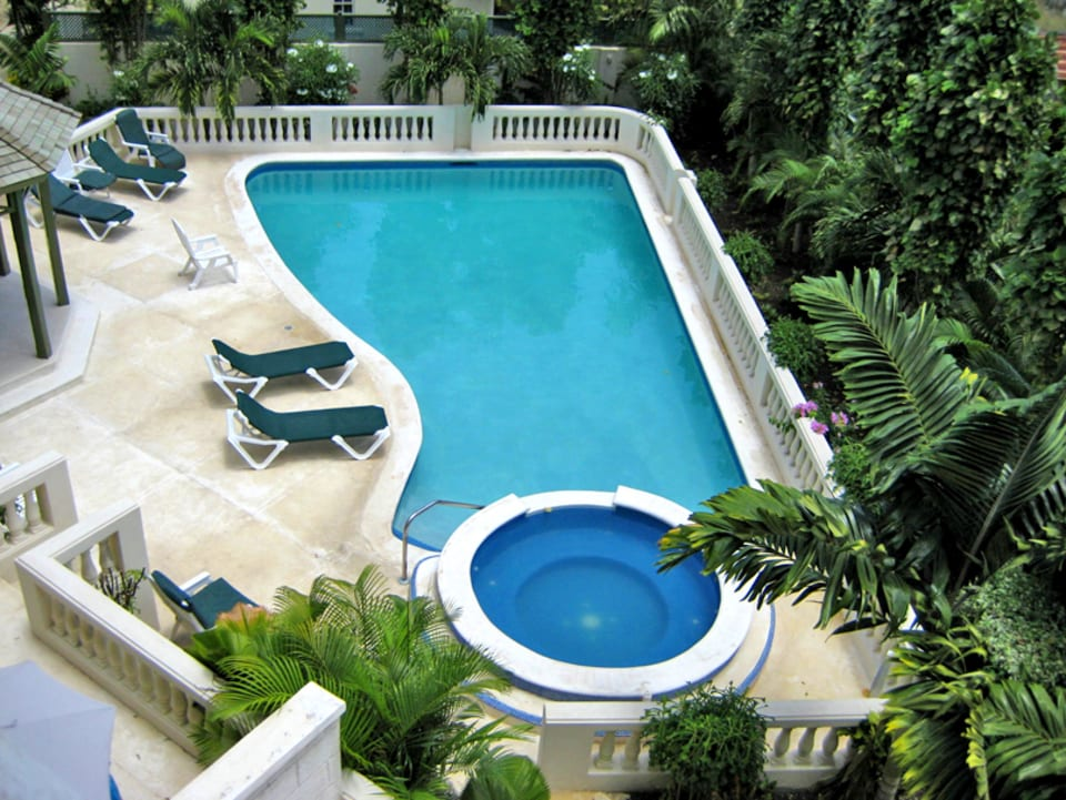 View of communal pool