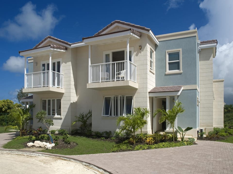 Front of one of the Duplexes