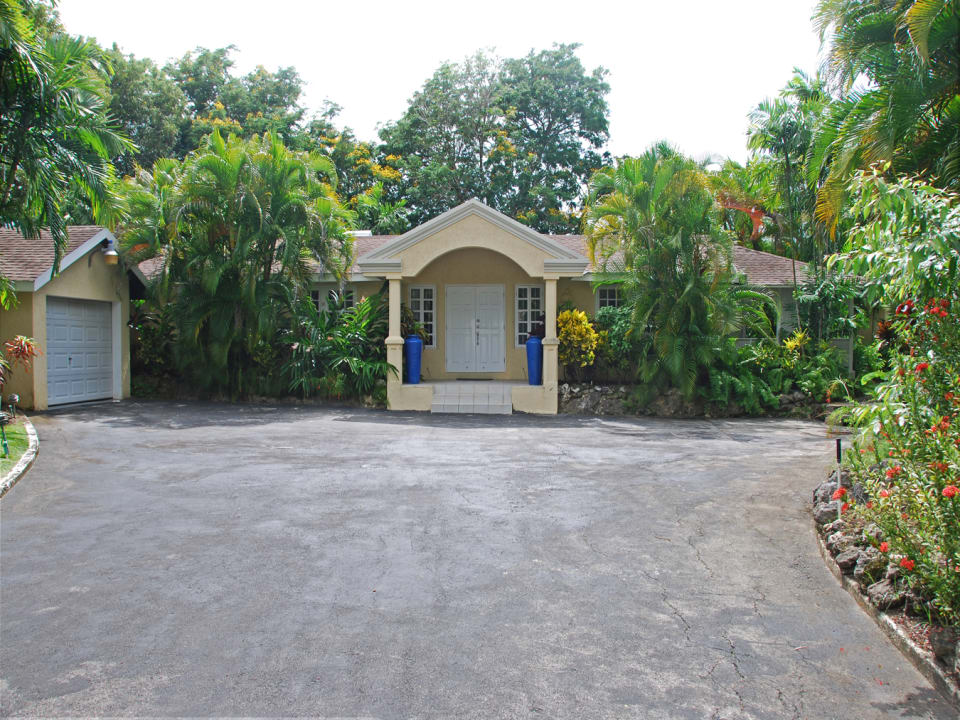 Front of residence