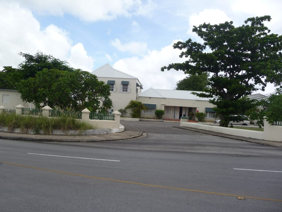 FRONTAL VIEW OF PROPERTY TAKEN FROM ACROSS THE ROAD