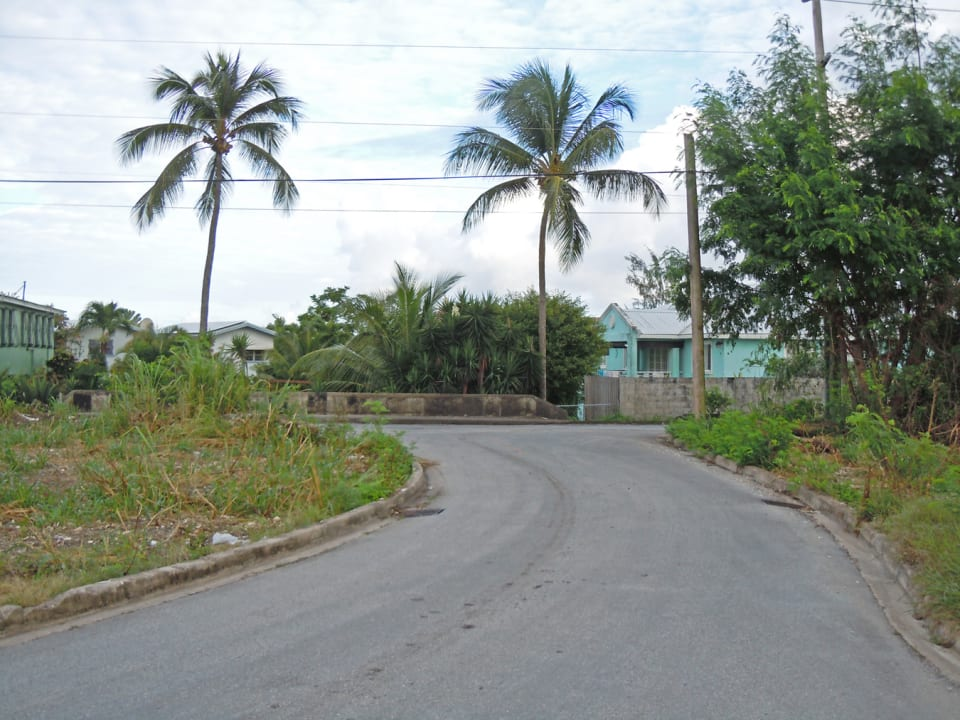 road looking to the main road