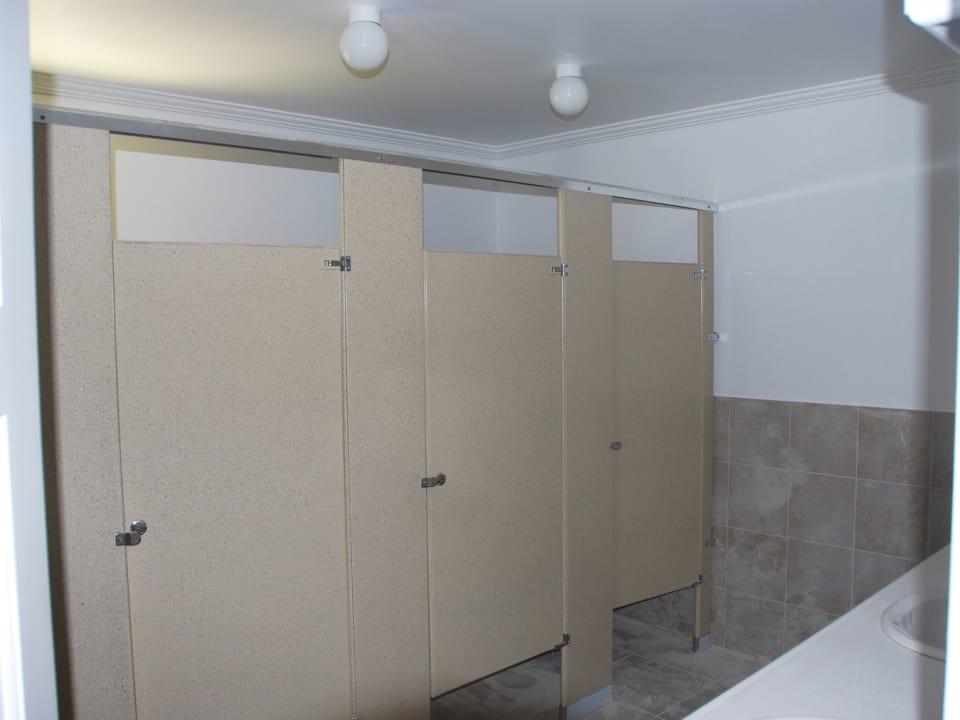 Shared bathrooms
