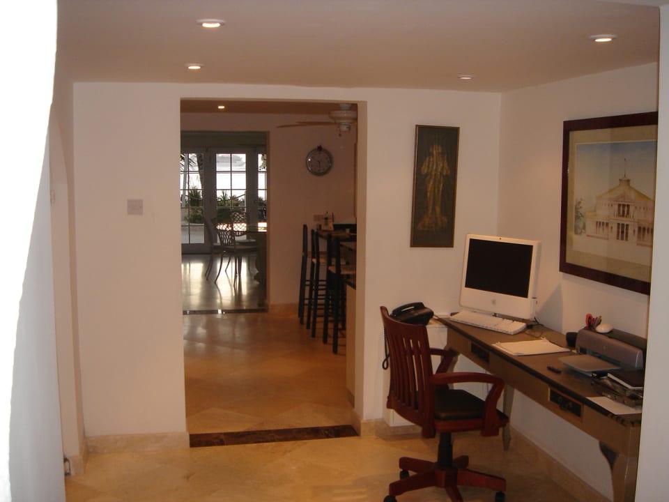 Corridor from entrance towards living areas