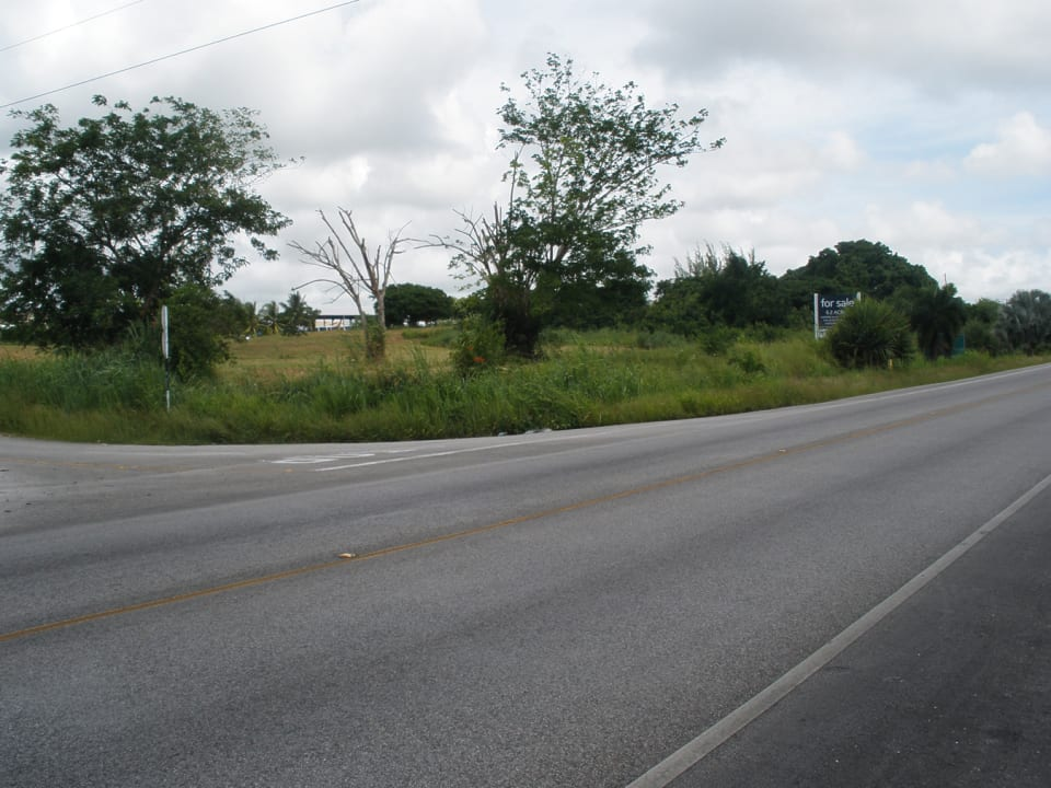 View of lots taken from across the highway