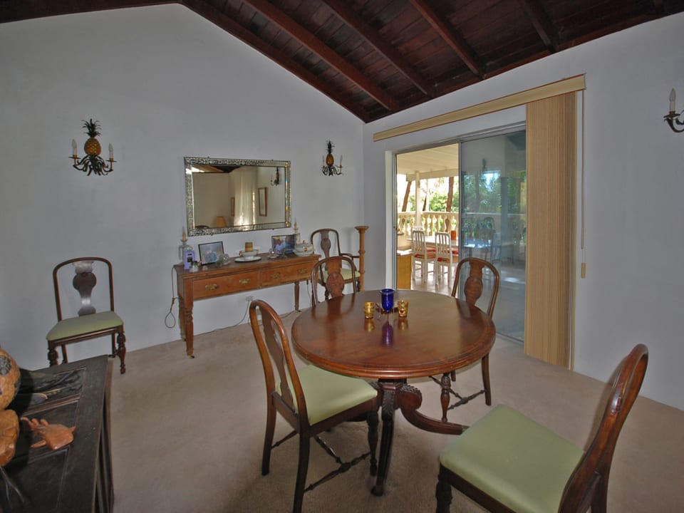 Dining Room Leads to Dining Terrace