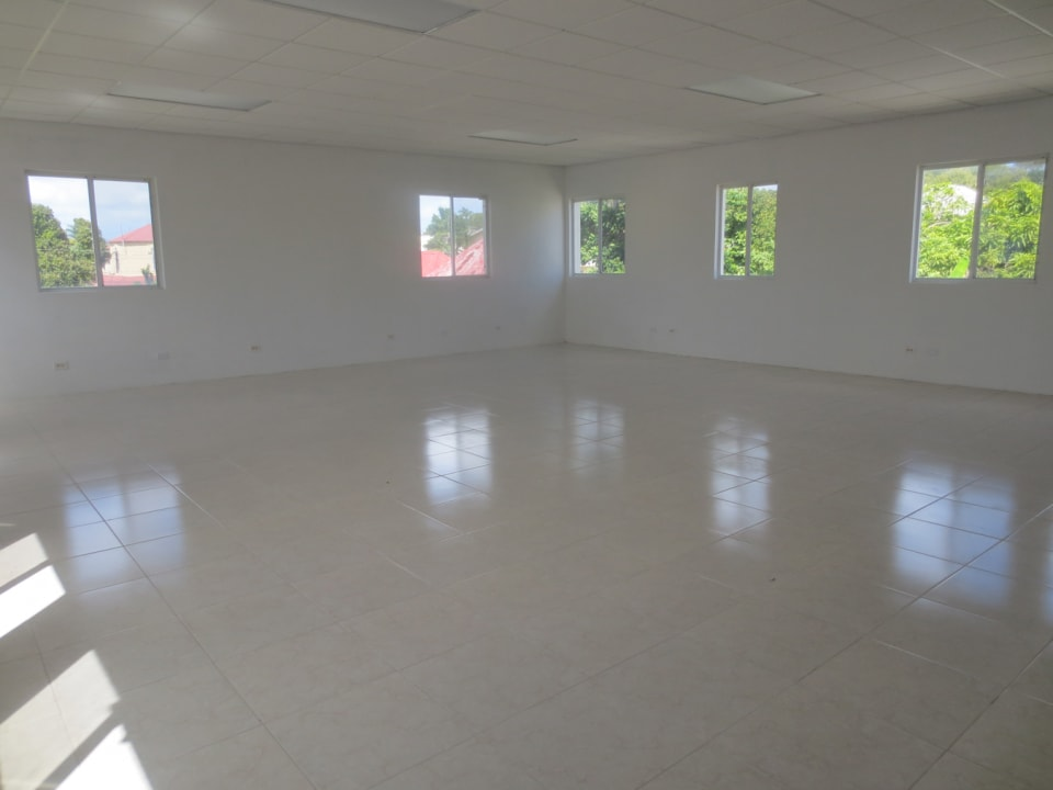 Large open plan space - south side