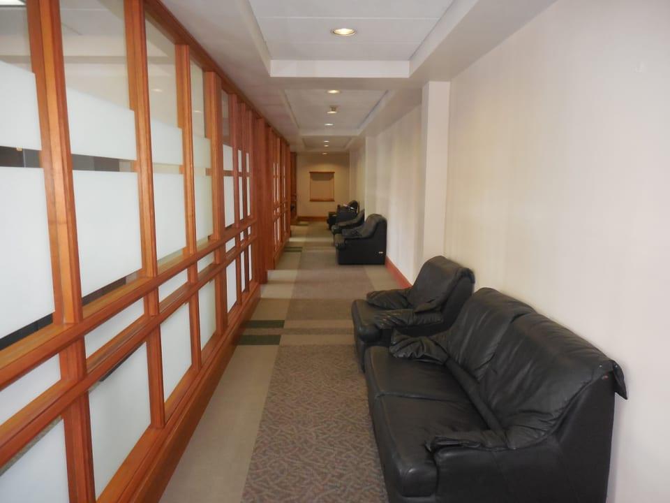 Hallway on second floor