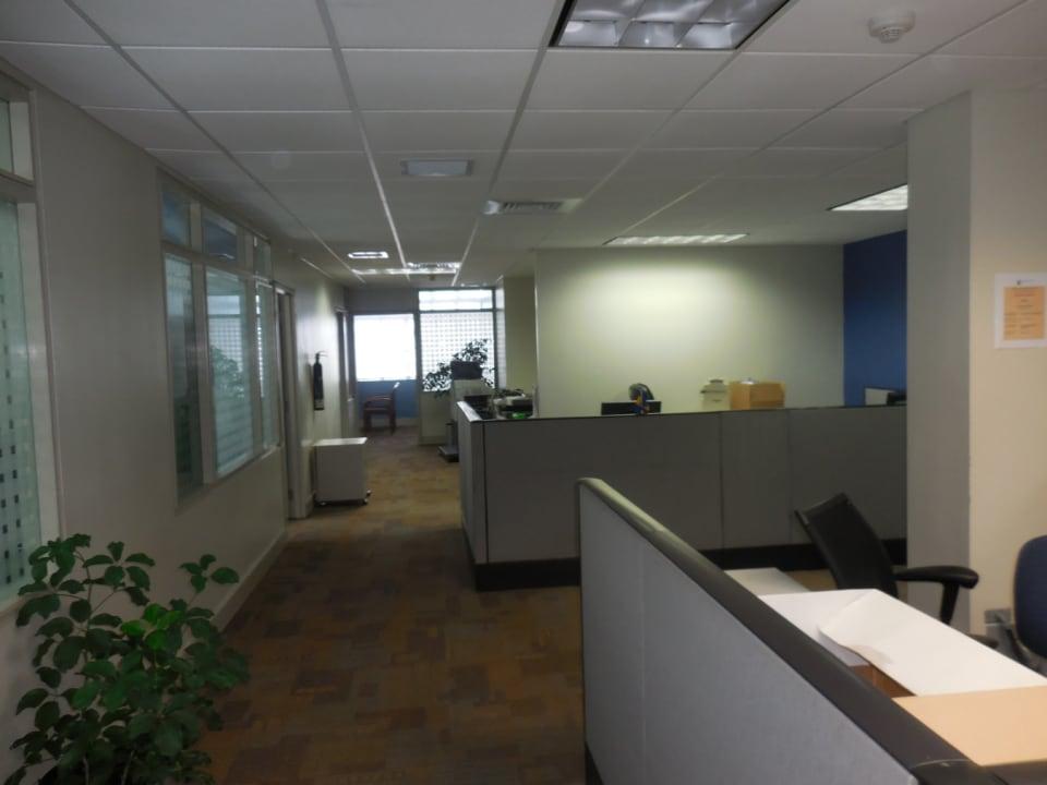 Office area on third floor