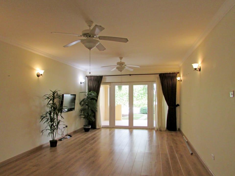 Spacious Living/Dining - Hardwood Floors