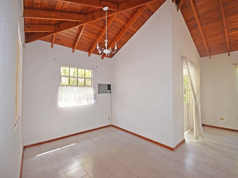 Open-plan living area