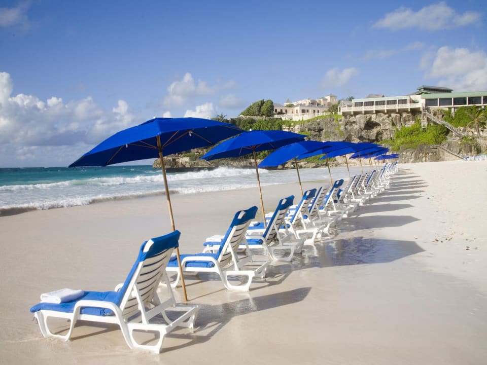Step on to Barbados' Crane Beach