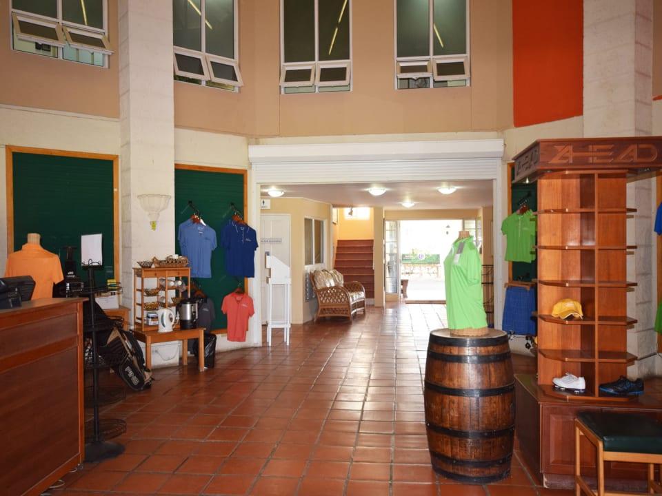 Pro Shop on Main Floor