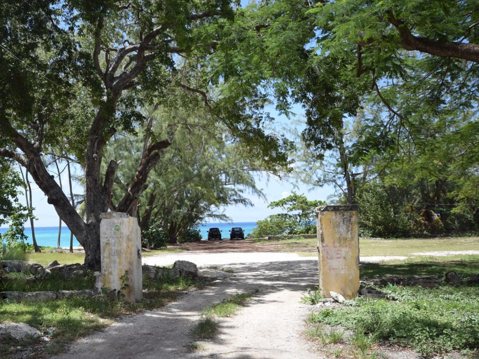 Entrance to the Land and Beach