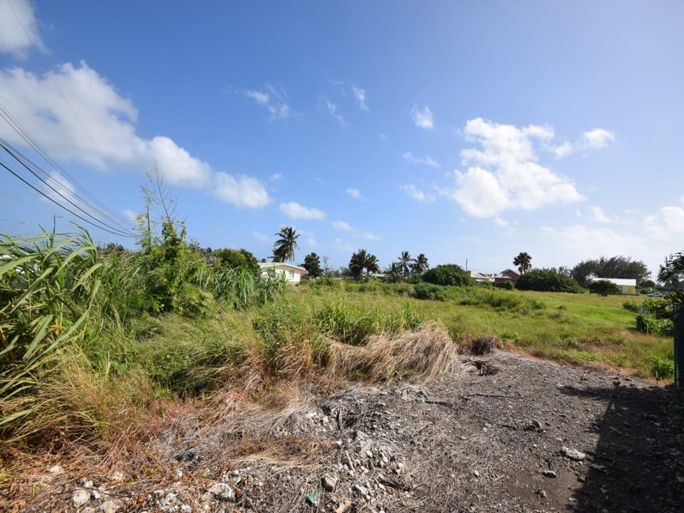 Flat piece of land