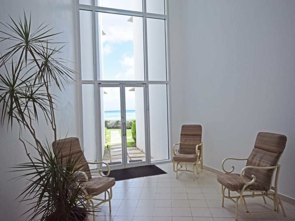 Atrium leading out to Beach