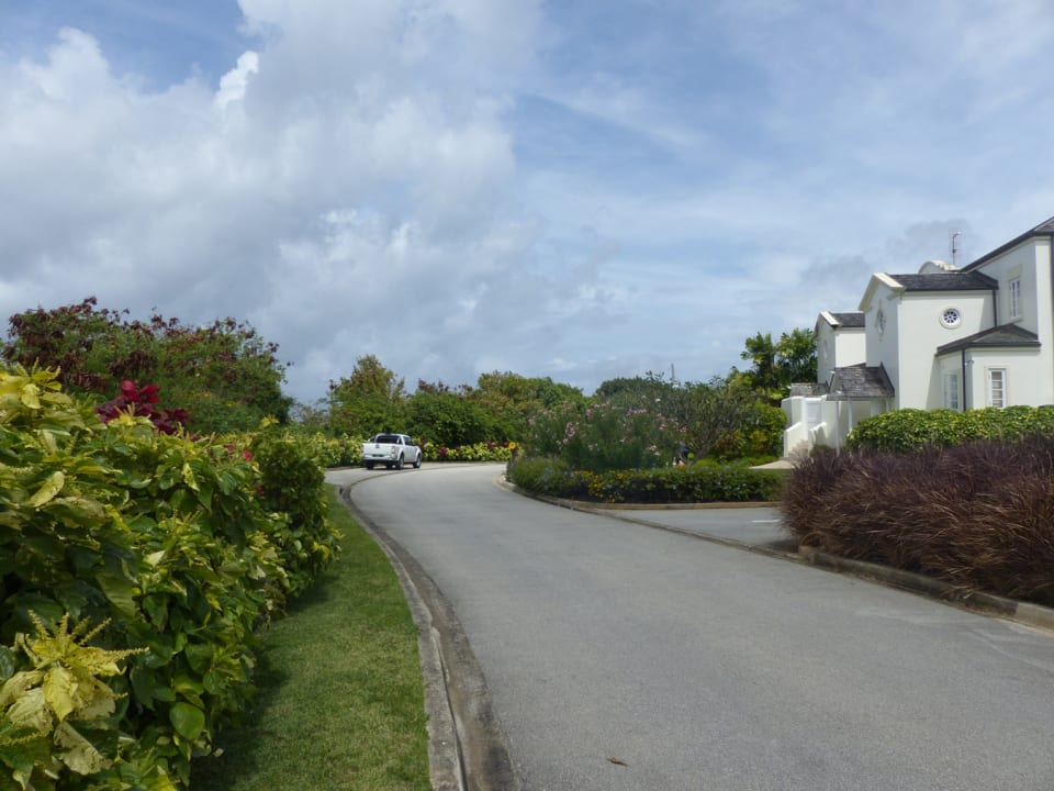 View of Apes Hill Polo Villas next to the lot