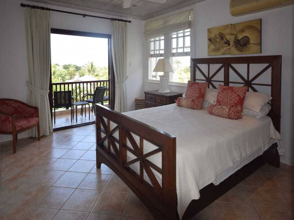Master Bedroom with Sea Views