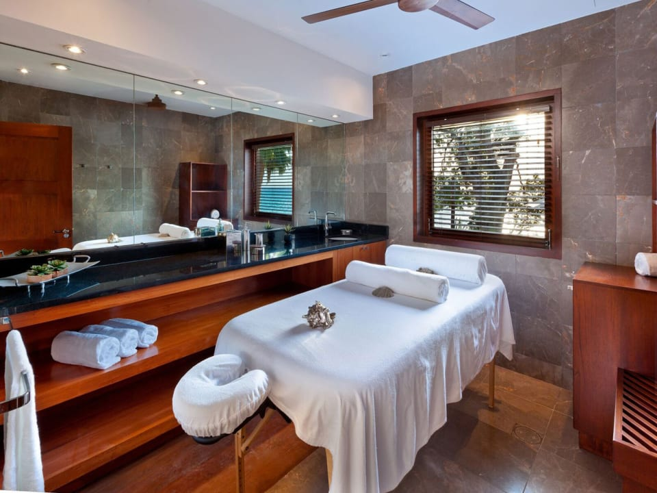 Spa room which includes a sauna