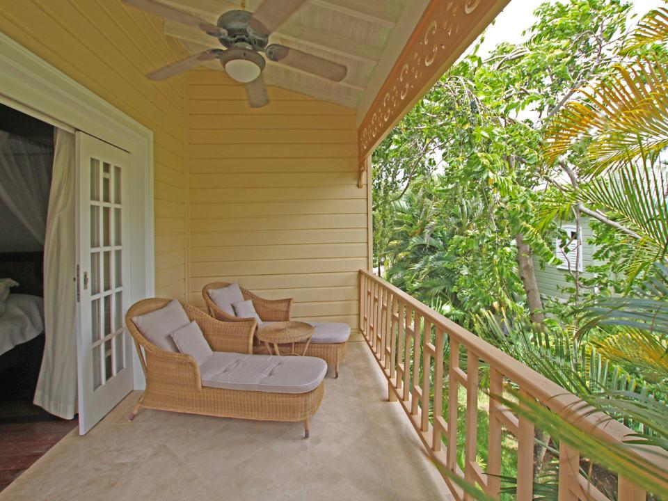 Private master terrace