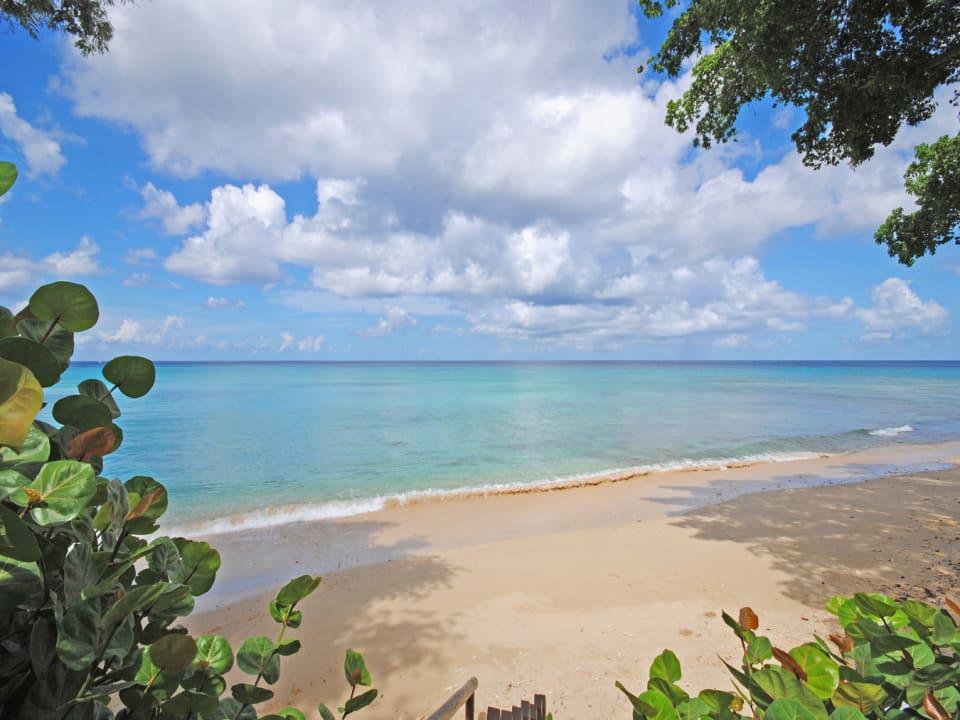Tranquil west coast beach