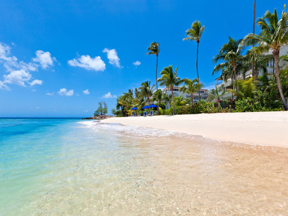 Beautiful beach with excellent swimming