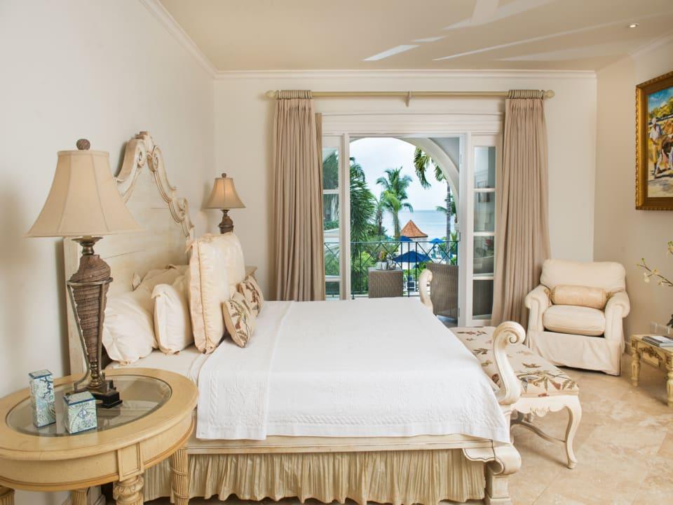 Master bedroom opens to covered verandah