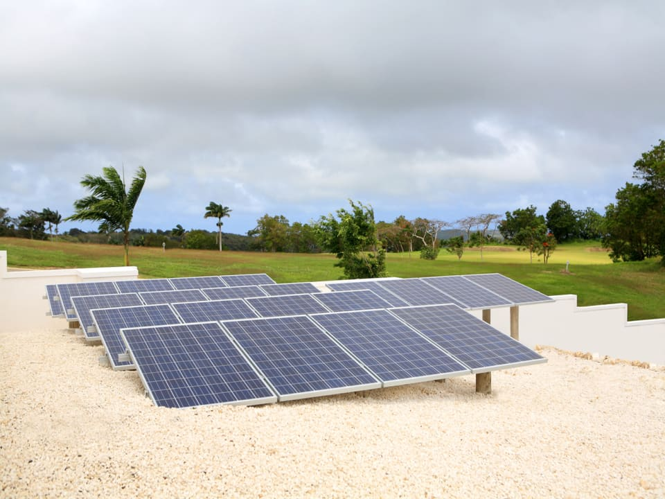 Sugar Water - photo-voltaic panels