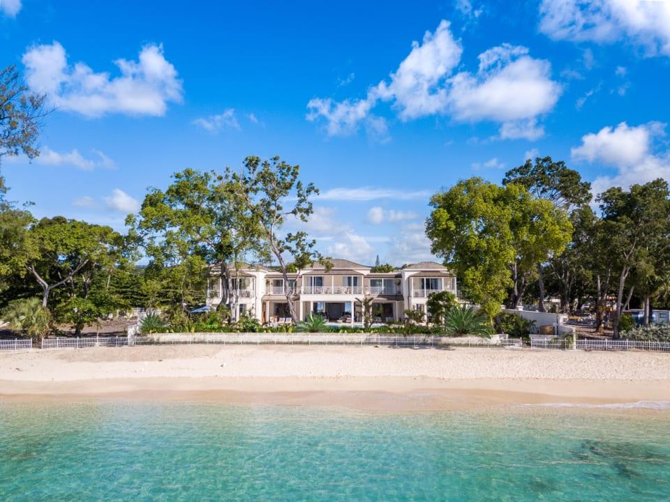 Villa Tamarindo - view from the beach