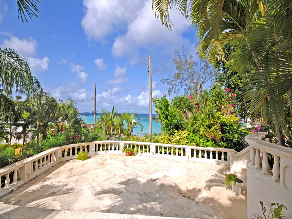 Shared terrace overlooks Mullins Beach