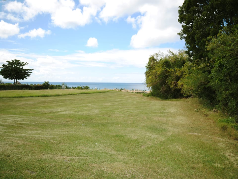 View of sea from lot 19