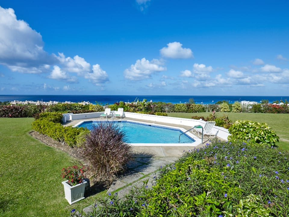 Stunning sea views from this double lot