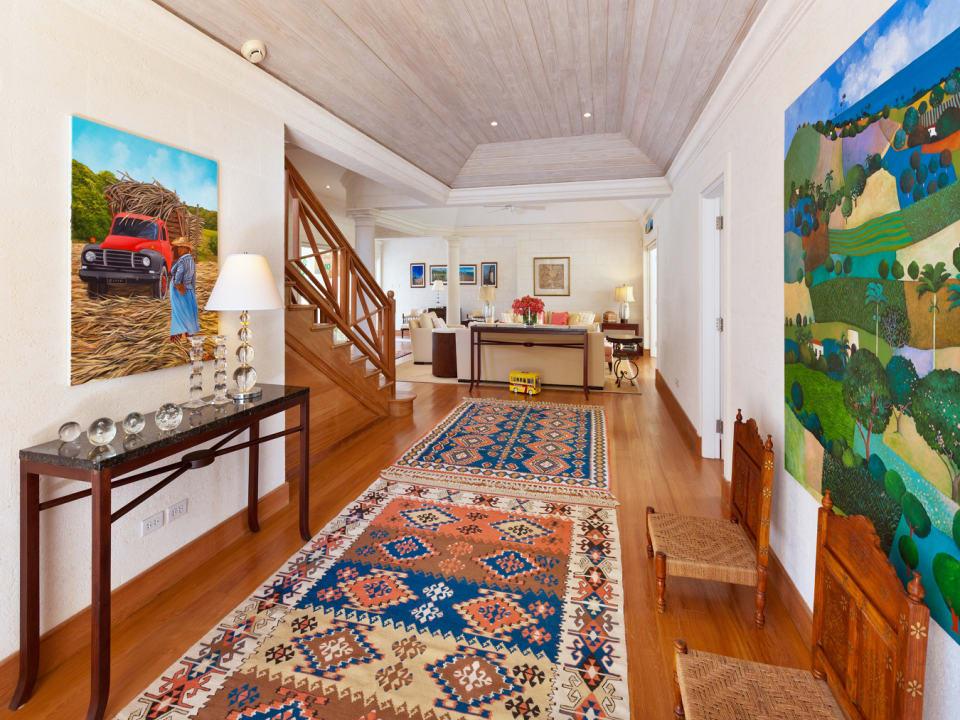 Foyer of Main House