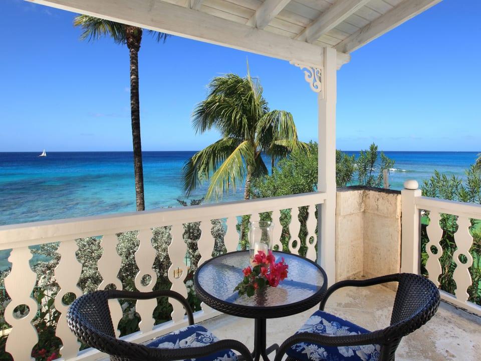 Ocean view from north bedroom balcony