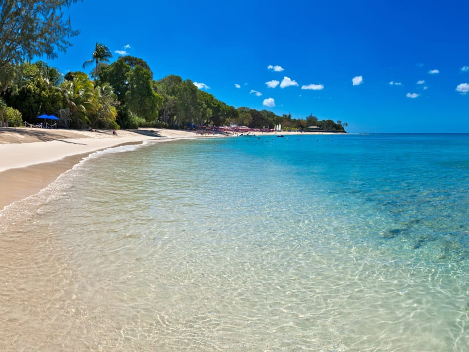 Amazing Sandy Lane Beach