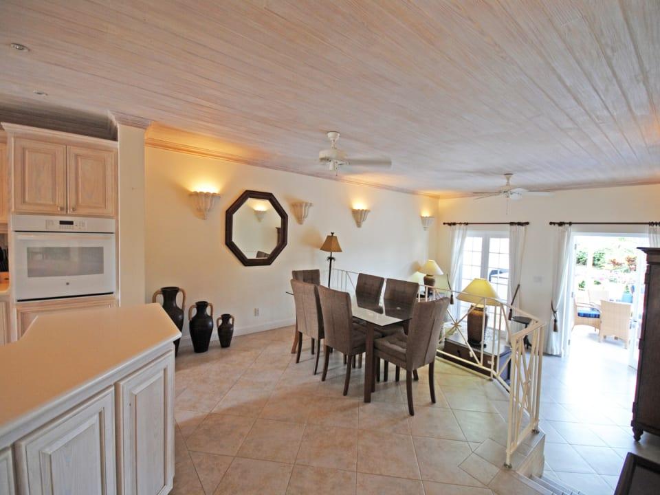Indoor dining room