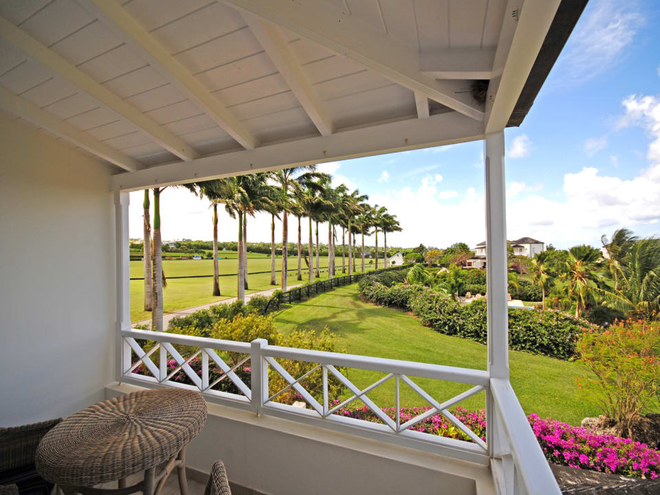 Wonderful view from master bedroom balcony