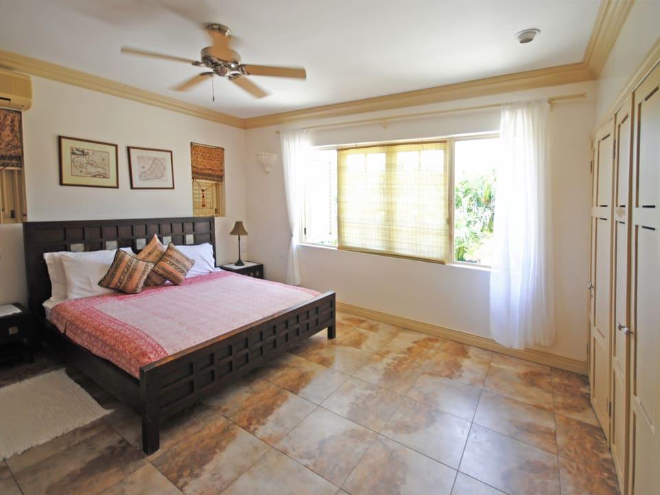 Master bedroom on first floor