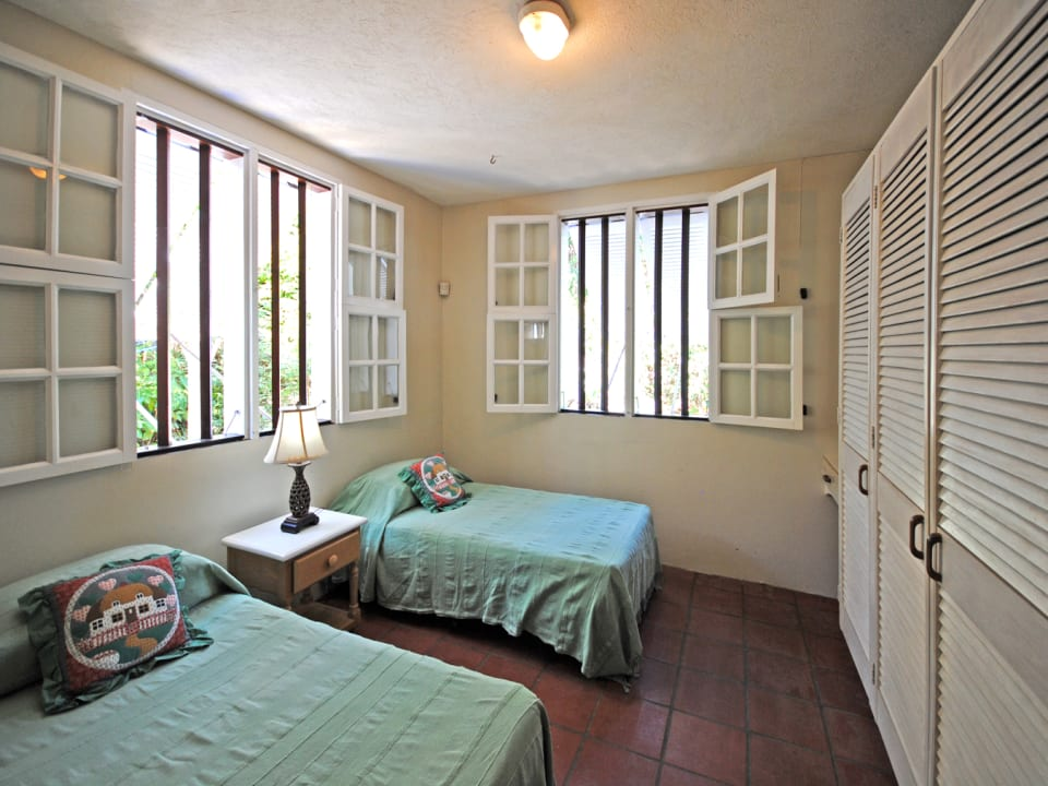 Second bedroom on ground floor