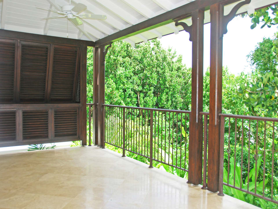 Main level balcony