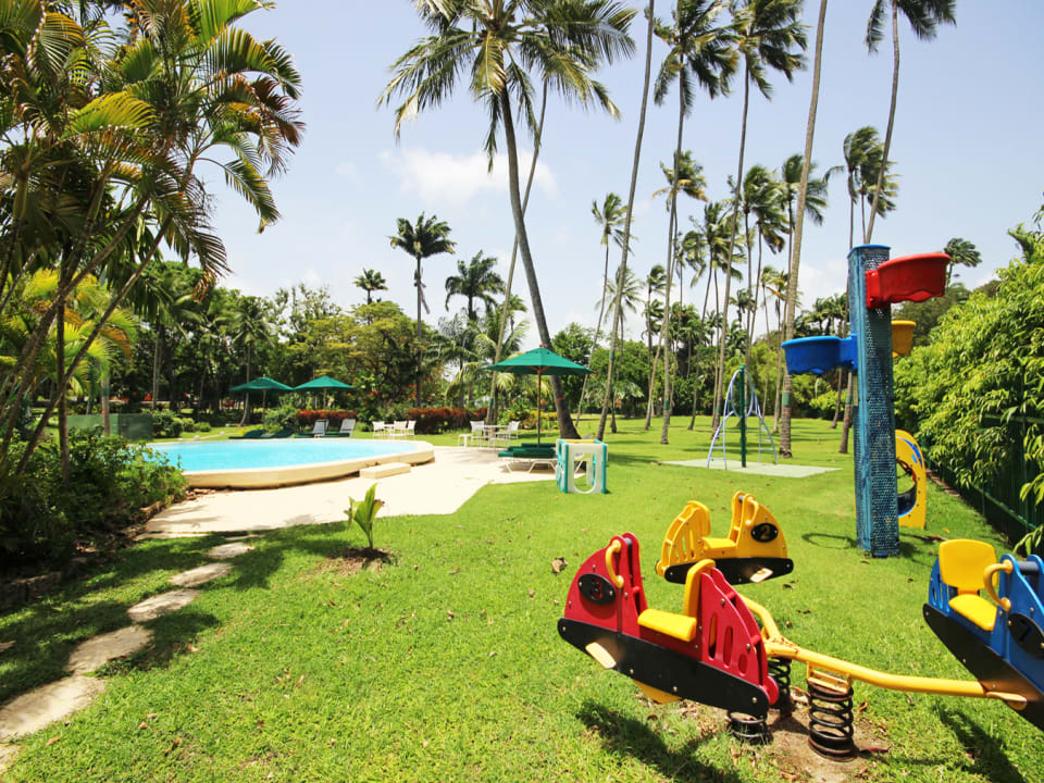 Childrens play ground and swimming pool
